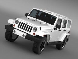 jeep wrangler unlimited altitude 3d model
