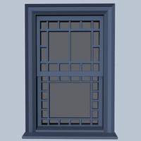 3d queen window