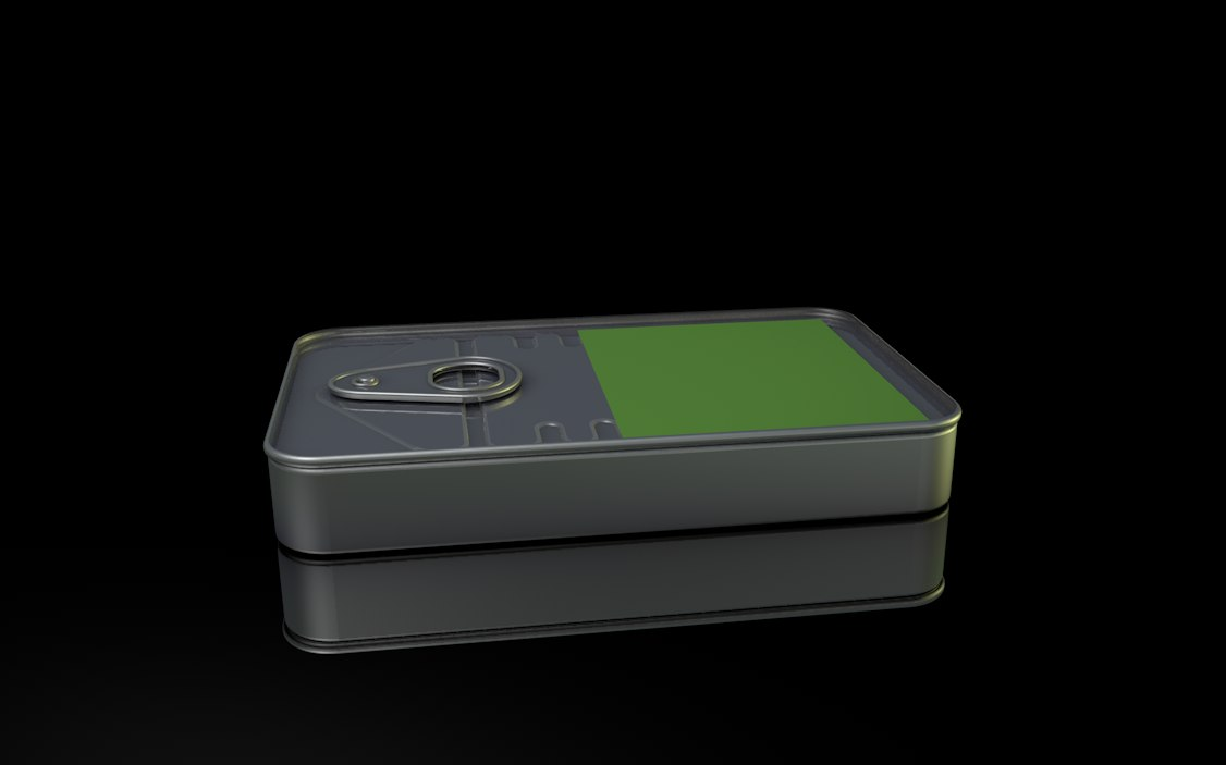 survival tin 3d model