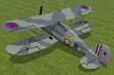 Gloster Gladiator 3D models