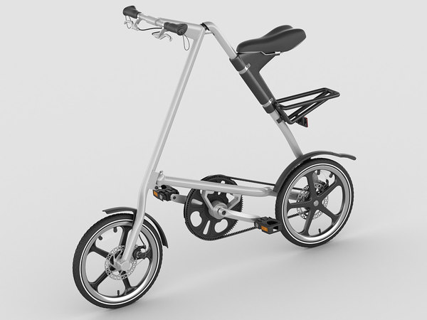 strida lt bike 3d model