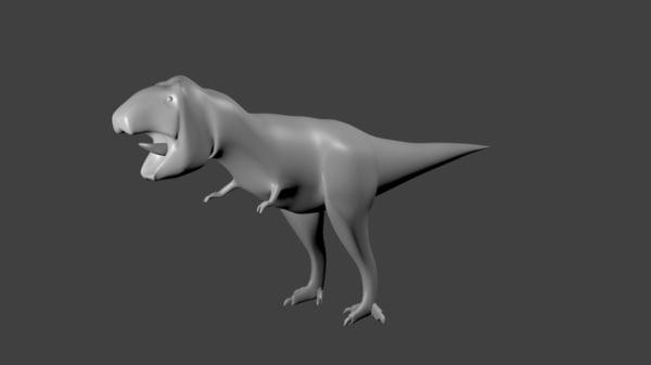 free t rex 3d model