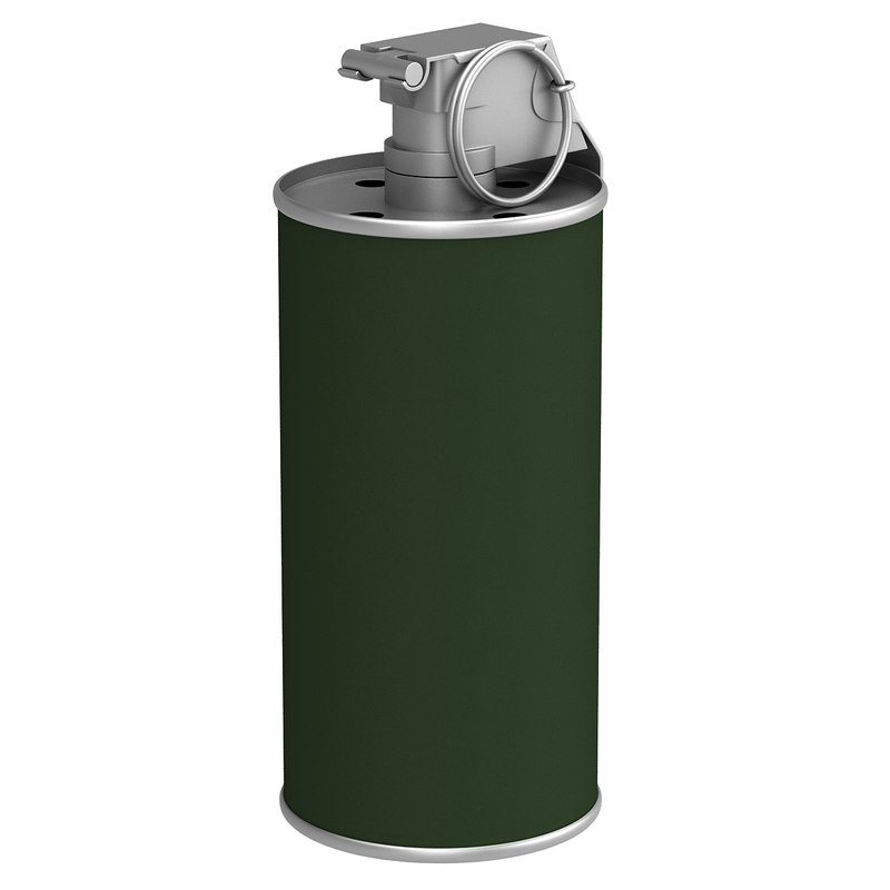 3ds max m8 smoke grenade
