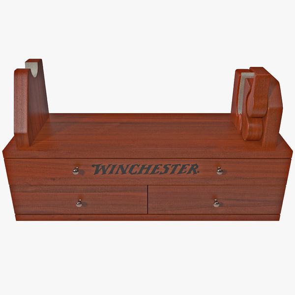3d winchester gun cleaning station model