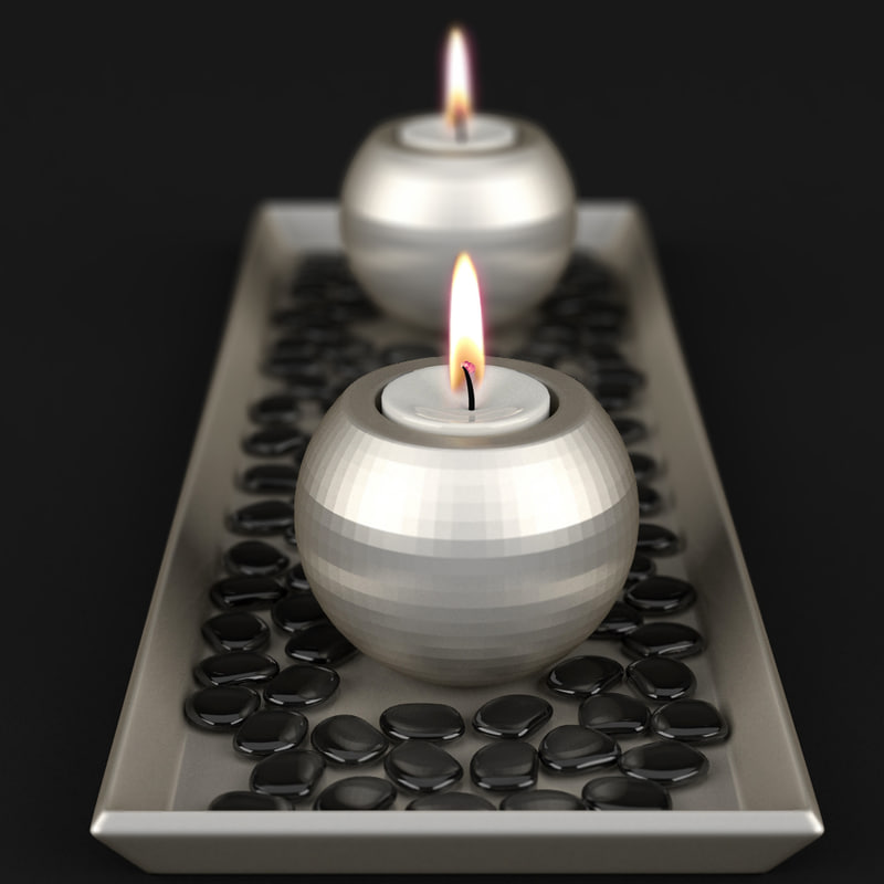 3ds max candle flame