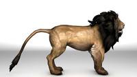 c4d lion rig