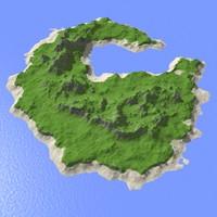 3d model heightmap