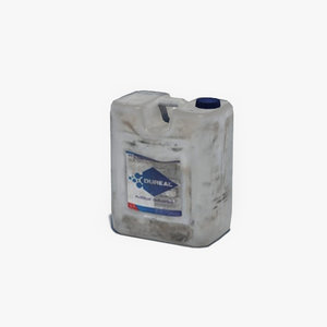 old plastic canister 3d max