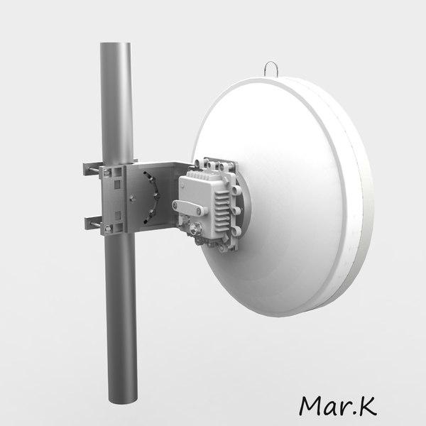 3d model wireless antenna ant 10a65