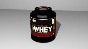 protein 3d model