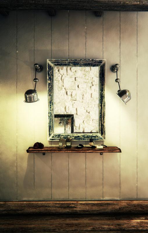 max vintage wall lamp