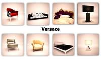3d versace lamp model