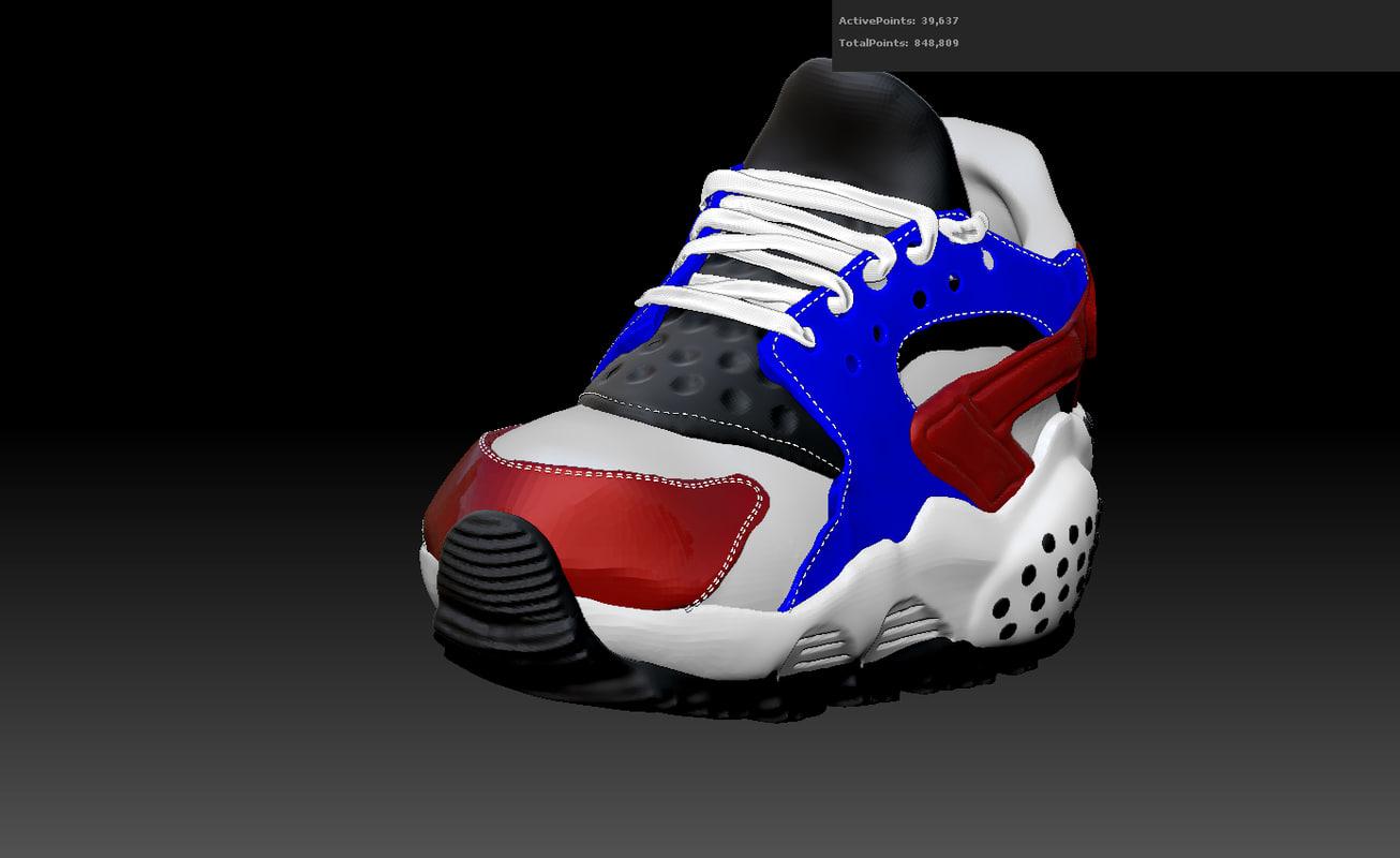 obj sneaker