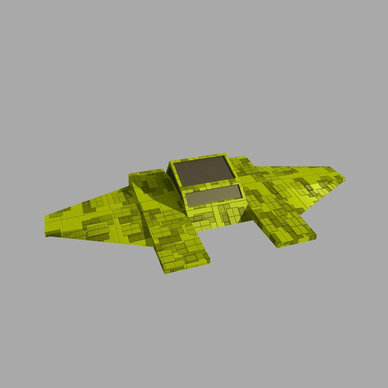 space ship 1 spaceship 3d 3ds