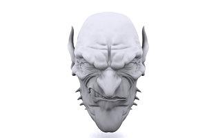 maya goblin head