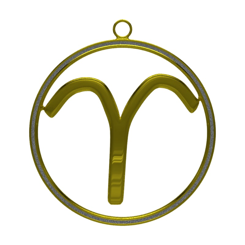 blender aries zodiac symbol