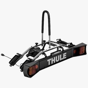 car trunk rack bicycle 3d model