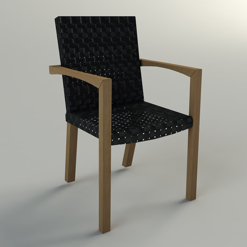 chair tibelli 3d max