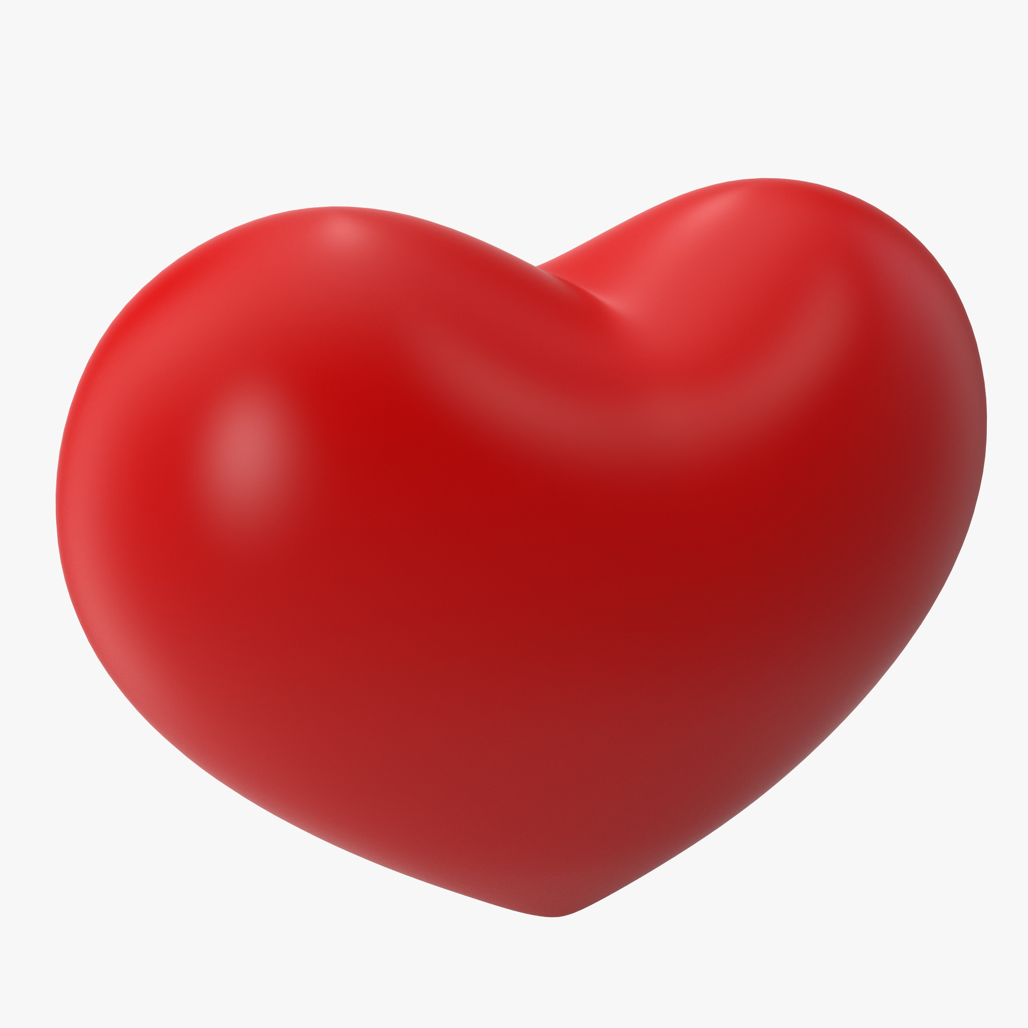 heart shape 3d max