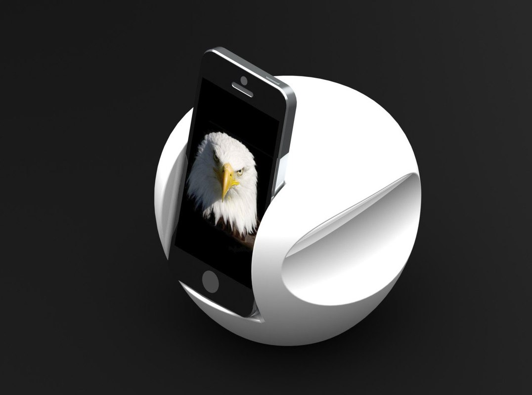 phone dock 3d model