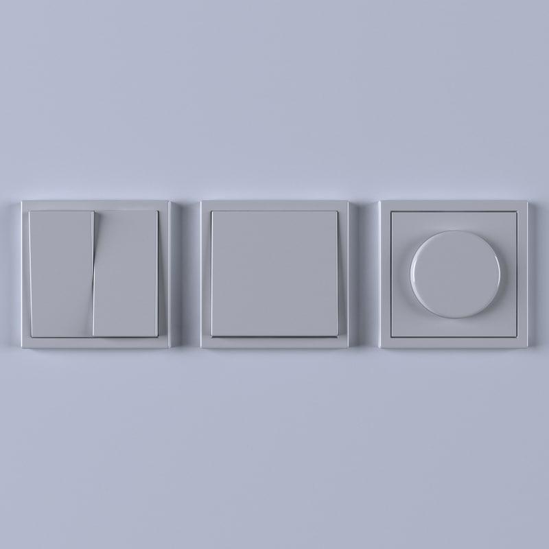 c4d light switch