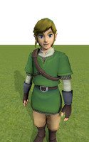 Link from Skyward Sword (Fully Rigged)