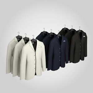 man suit 3d 3ds