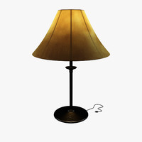 3d table lamp -