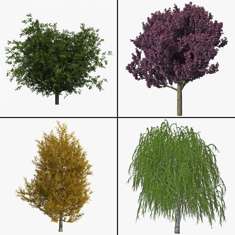 trees v7 3d 3ds