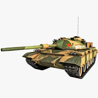 Type 88 China Main Battle Tank
