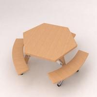 3d model modern furniture