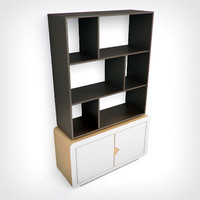 Timoore bookcase