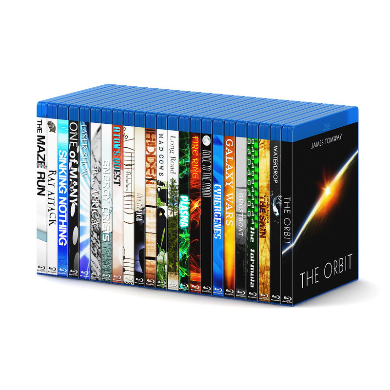 3d blu-ray cases