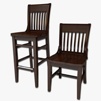 Dining Chair and Stool 6