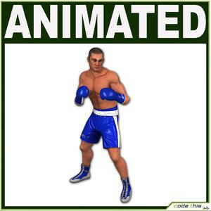 3d human athletic