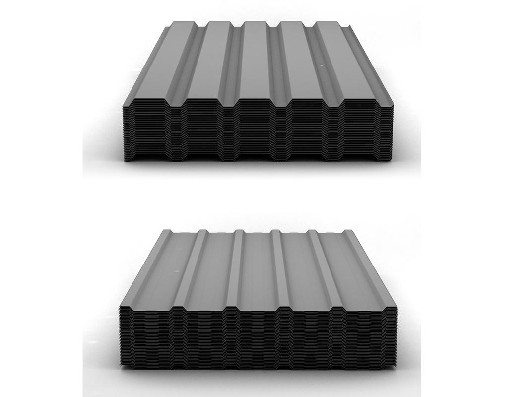 3d trapezoidal sheet