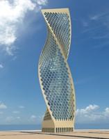 blend skyscraper architectural