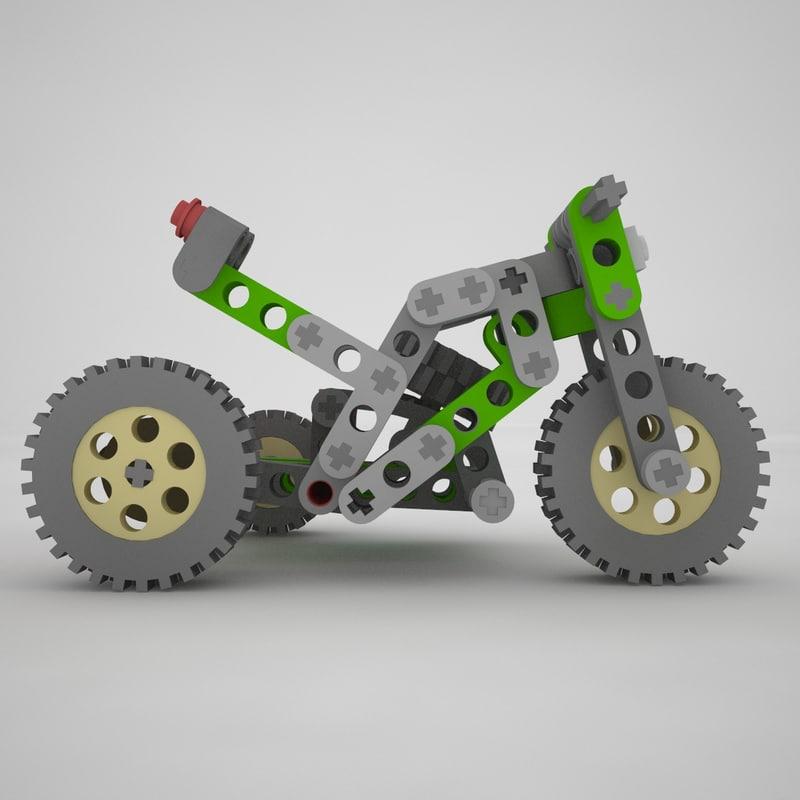 3d model of lego technic