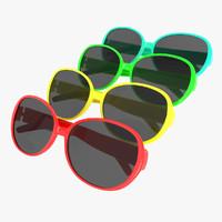 3ds max sun glasses sunglasses