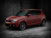 3ds max suzuki swift