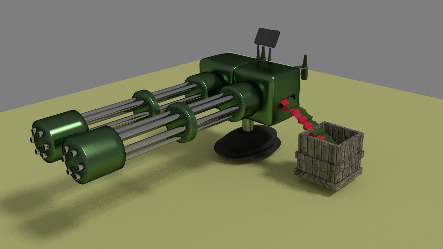 santry 3d model