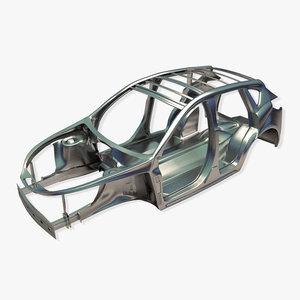 3d model car frame