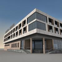 Modern Building 052