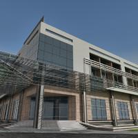 Modern Building 016