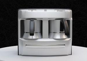 3d model turkish coffe machine