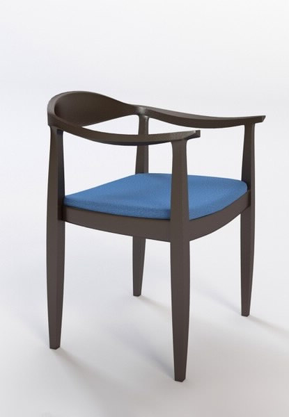 3d modern armchair 4 model