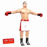3d model boxer box