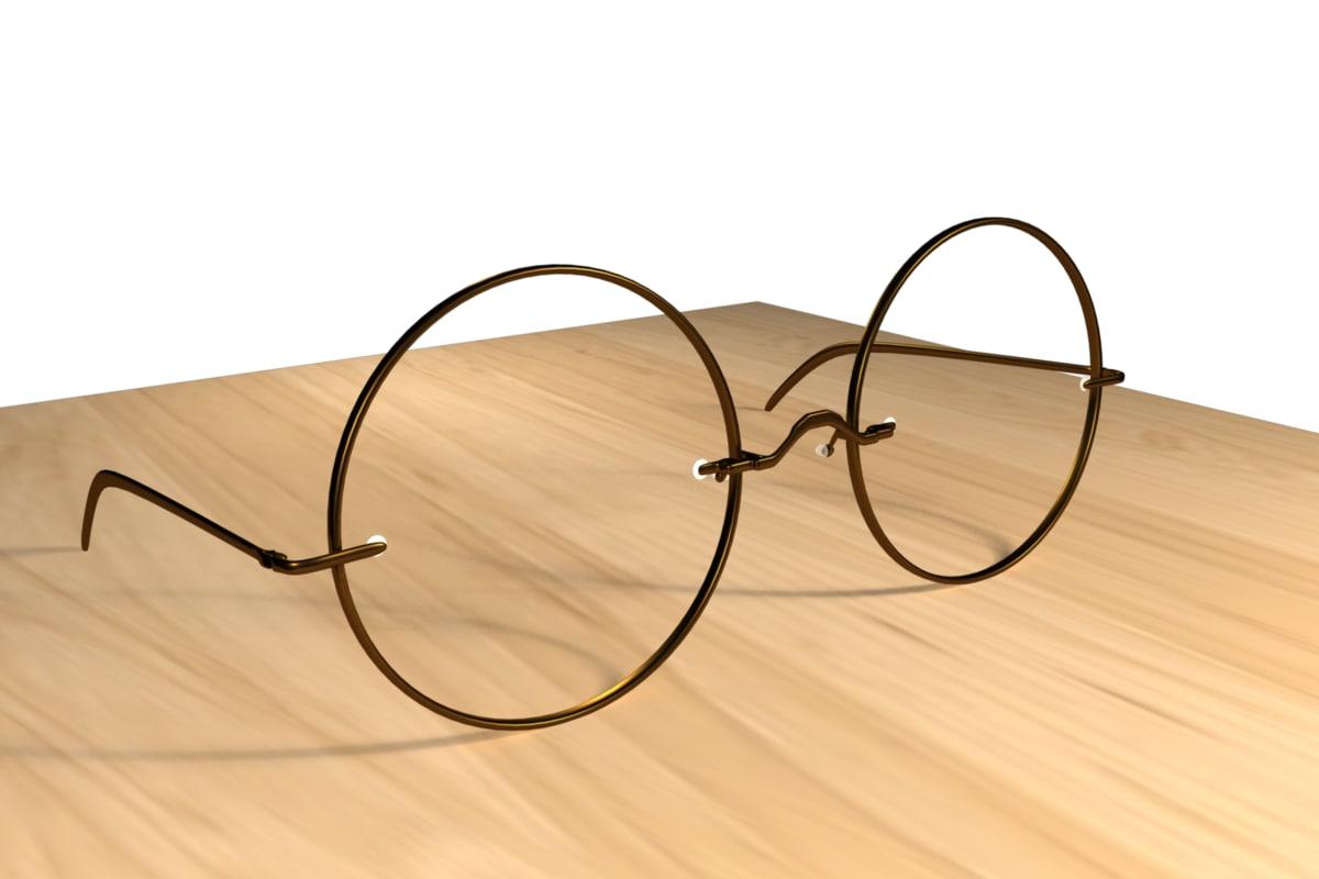 eyeglasses glasses 3d model