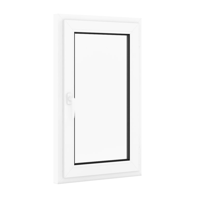 openable plastic window 700mm 3d model
