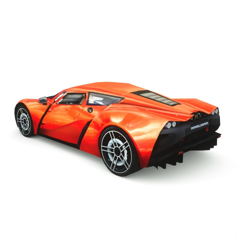 3d marussia b2 2013 model